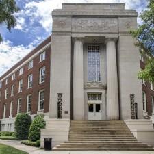 exterior front of Farrah Hall